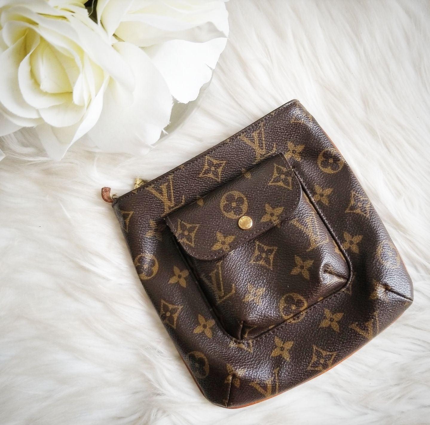 Louis Vuitton Monogram Partition Pouch