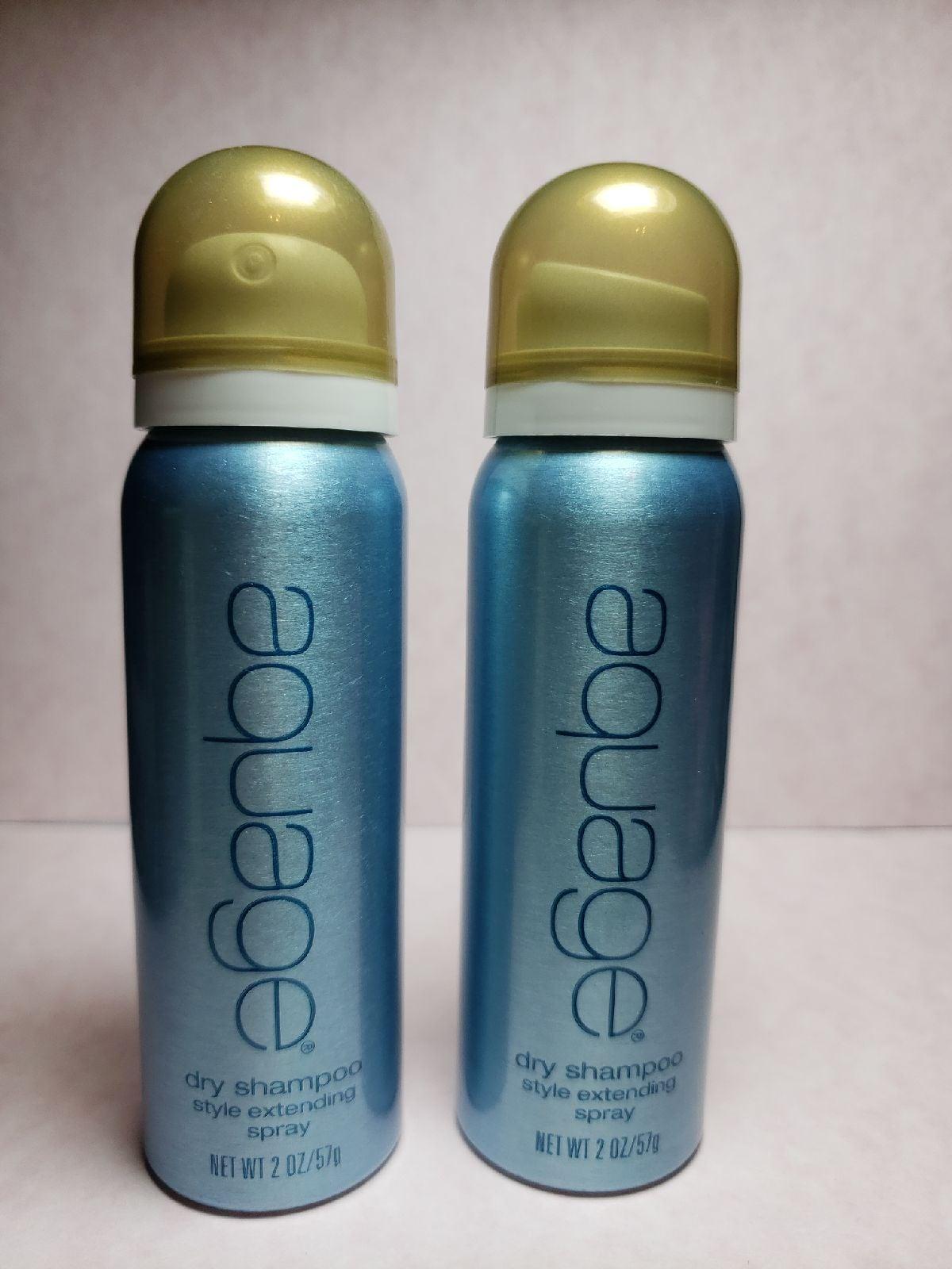 2X Aquage Dry Shampoo 2oz. Travel Size