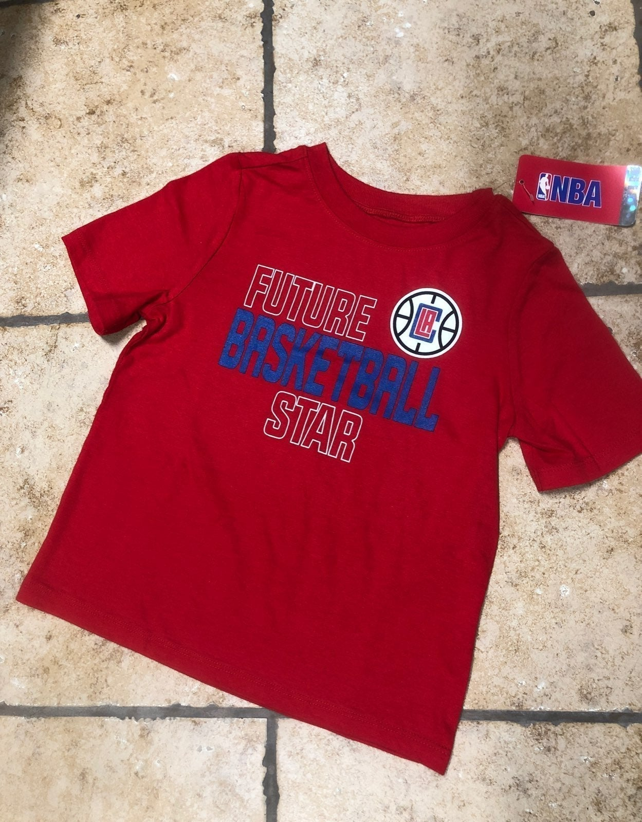 NWT Toddler Kids NBA LA Clippers T Shirt