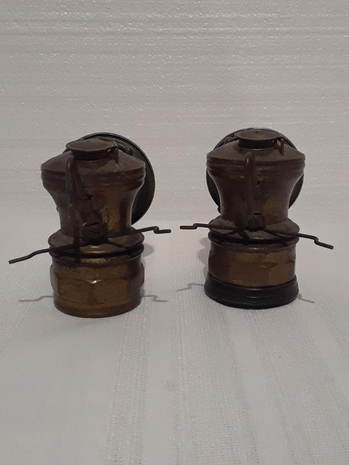 VTG brass Autolite carbide Miner's lamp