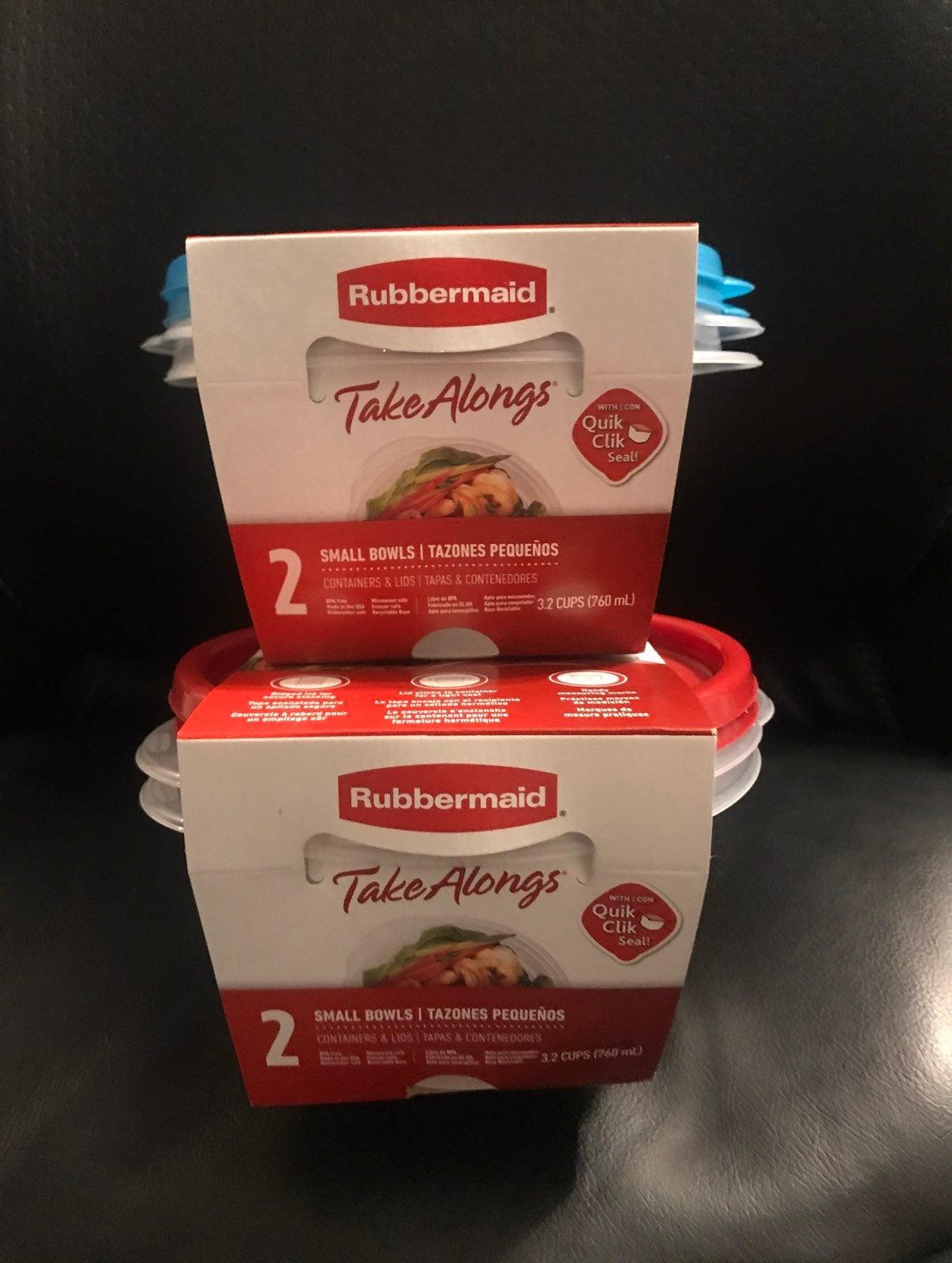 Rubbermaid Food Storage Bundle of 2 pack