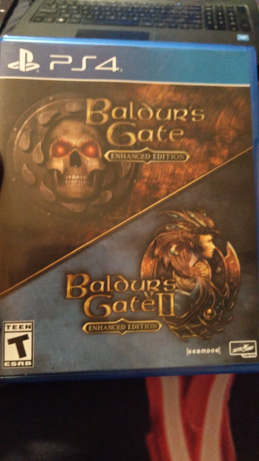 PS4 Baldurs Gate 1 and 2 Enhanced Editio