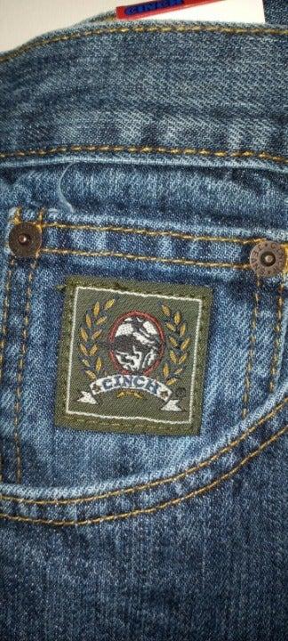 NEW Cinch Men's Denim Blue Jeans 42x38