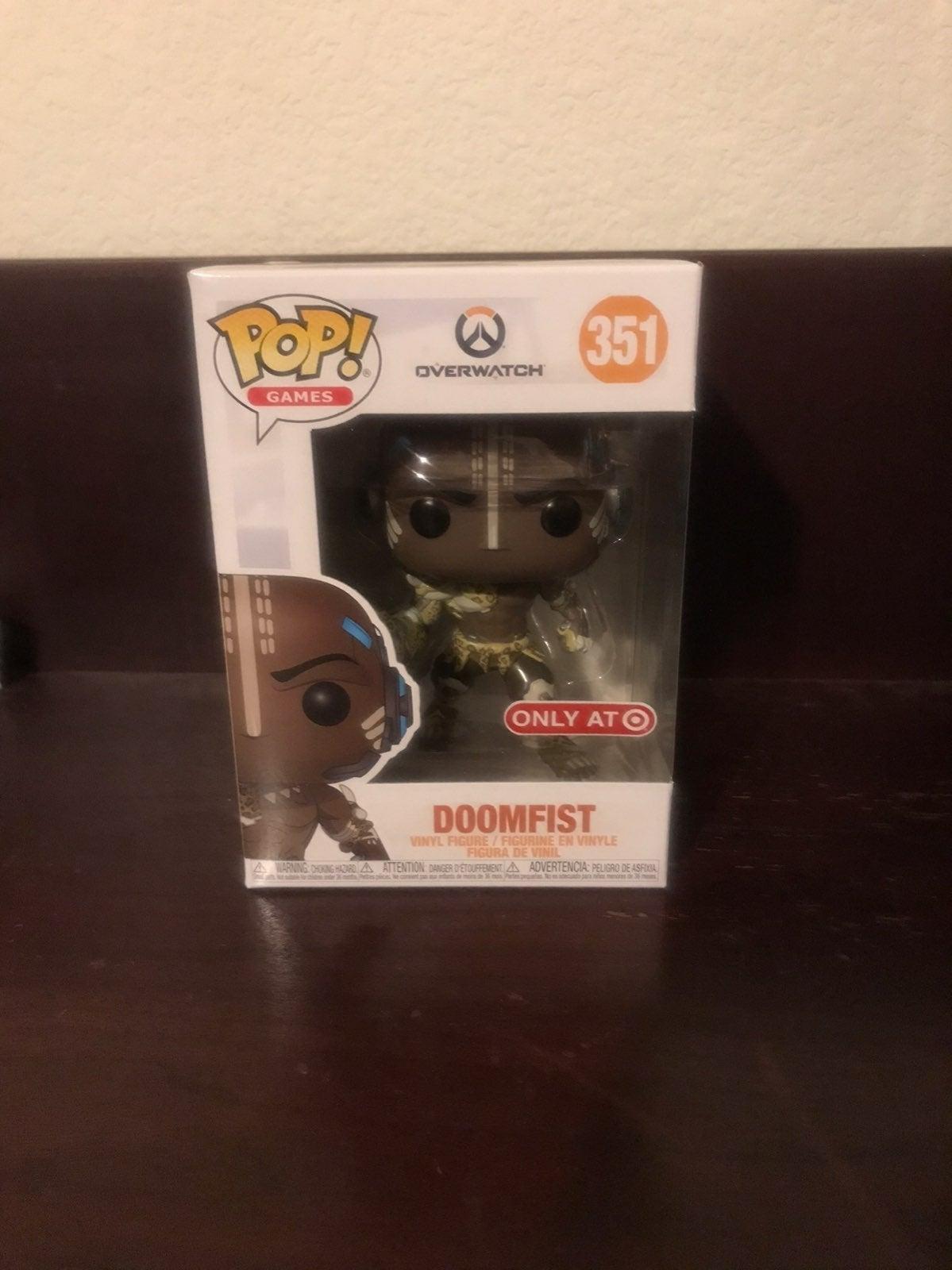 Doomfist Target Exclusive Funko Pop