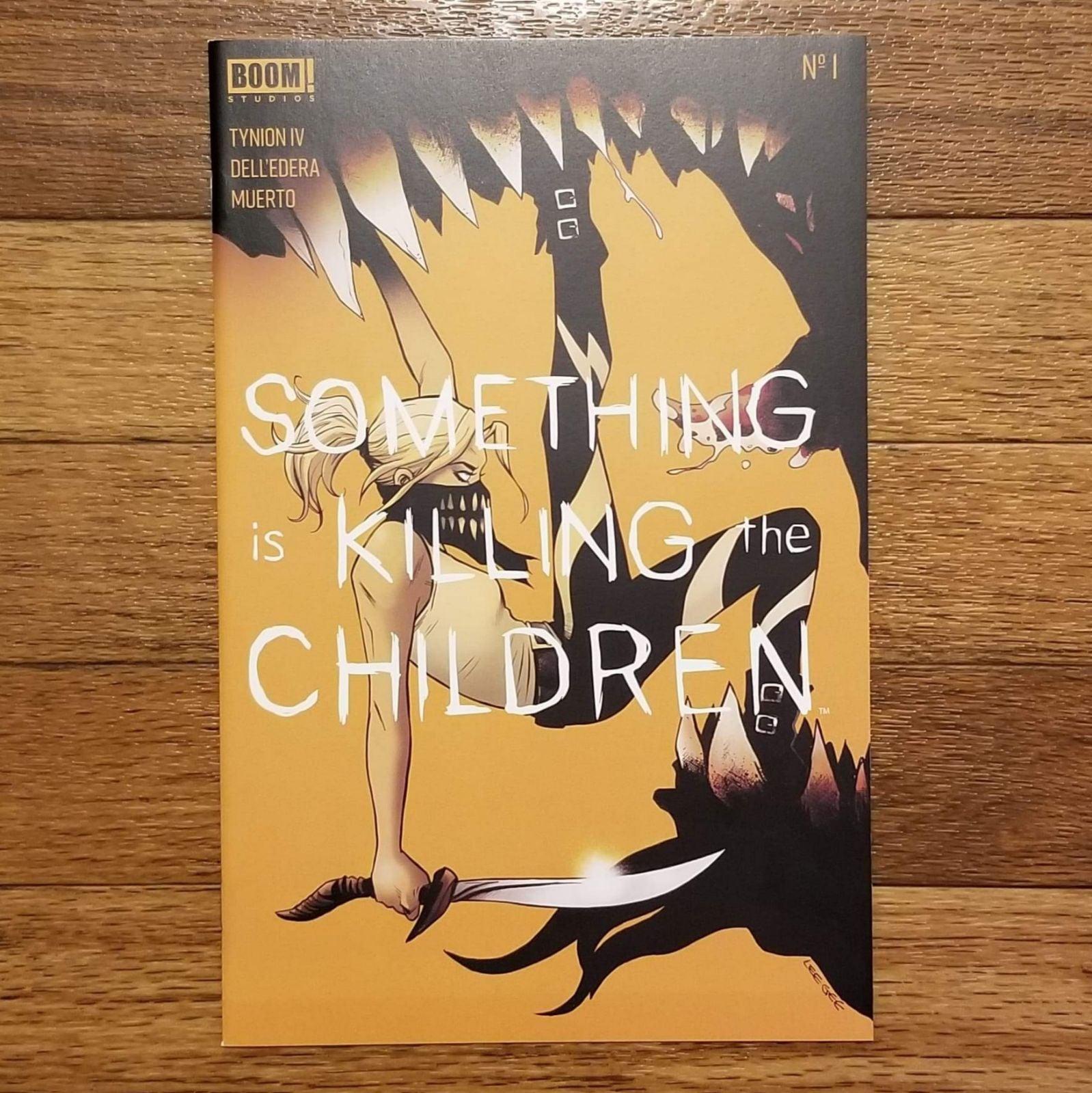 Something Killing Children 1 - 4th print