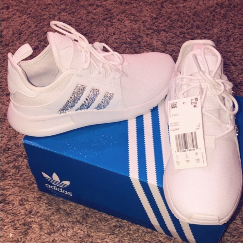 NEW RARE Adidas crystal xplr 7 sneakers