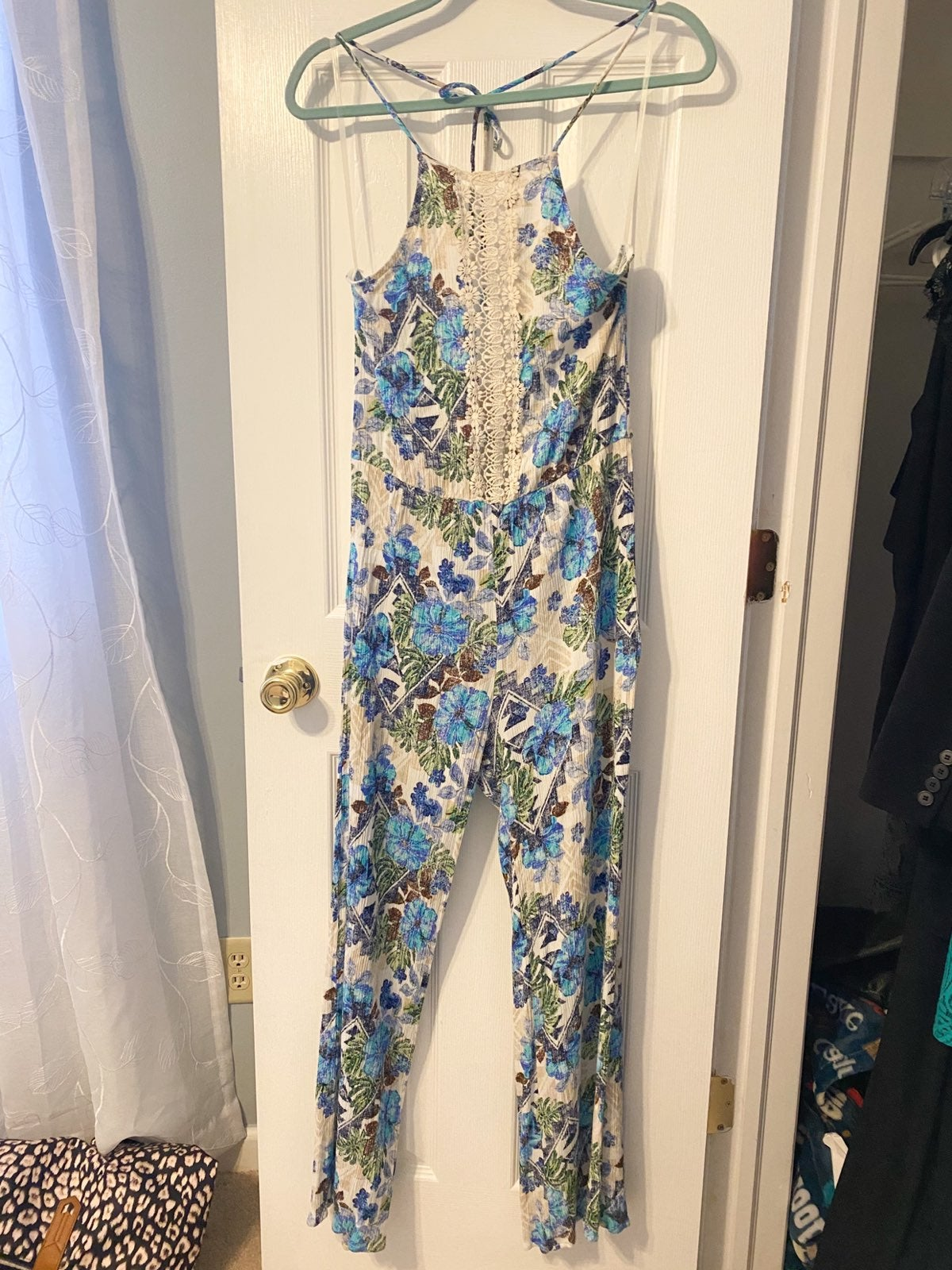 Lilly Pulitzer inspired Jumpsuit