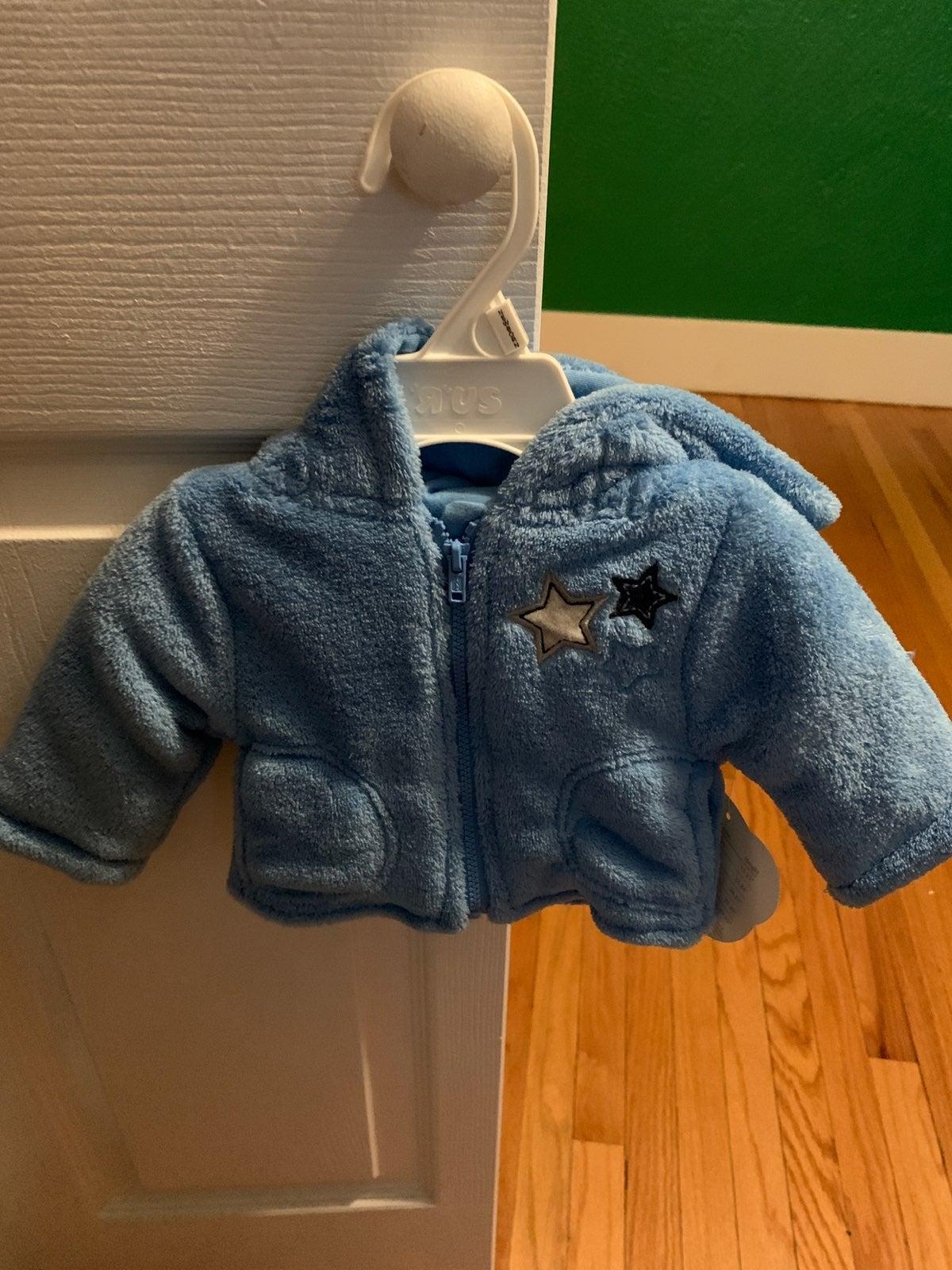 BabiesRus STARS Fleece pants and jacket