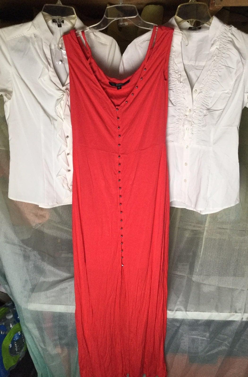 2 Express Blouse & 1 Guess Dress