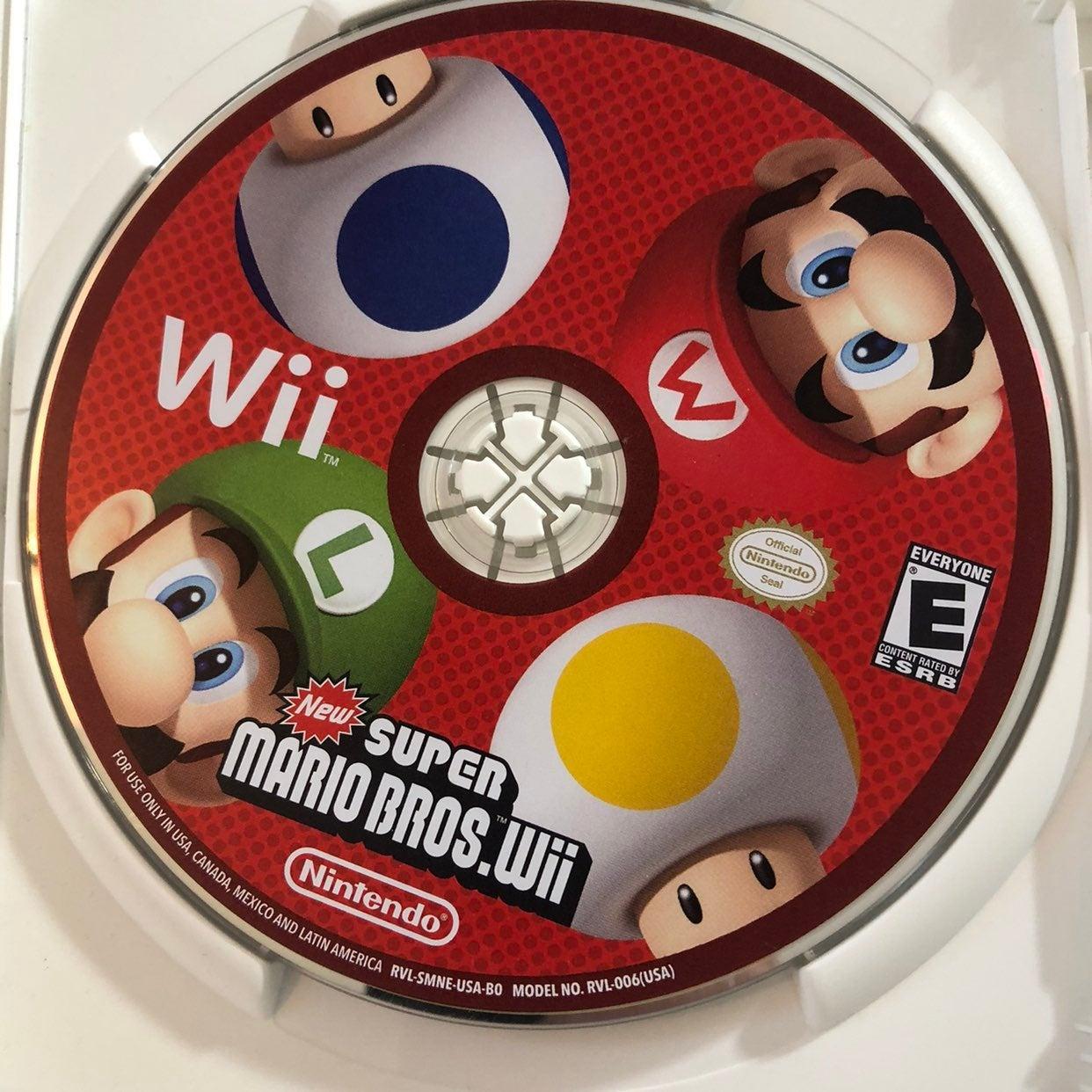 Super Mario Bros. Nintendo Wii Game