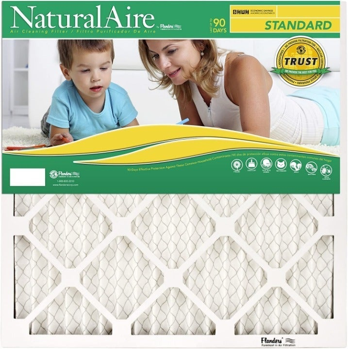 """NaturalAire Air Filter 12 Pack 20x36x1"""""""
