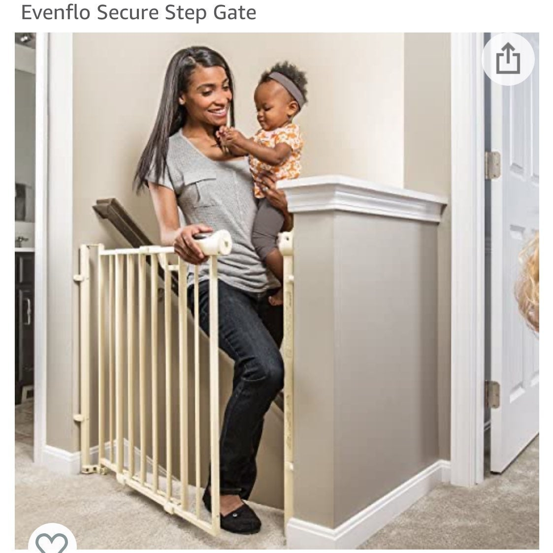 Evenflo Secure Step Baby Gate