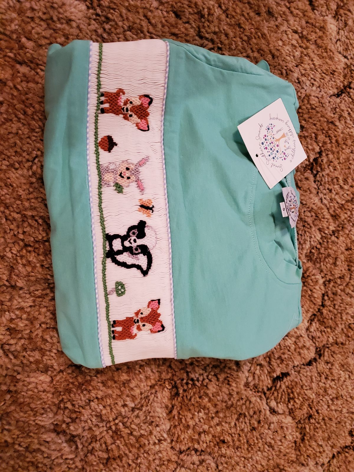 Bambi Smocked outfit