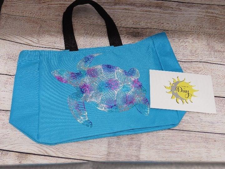 Sea Turtles Mandala Tote Bag