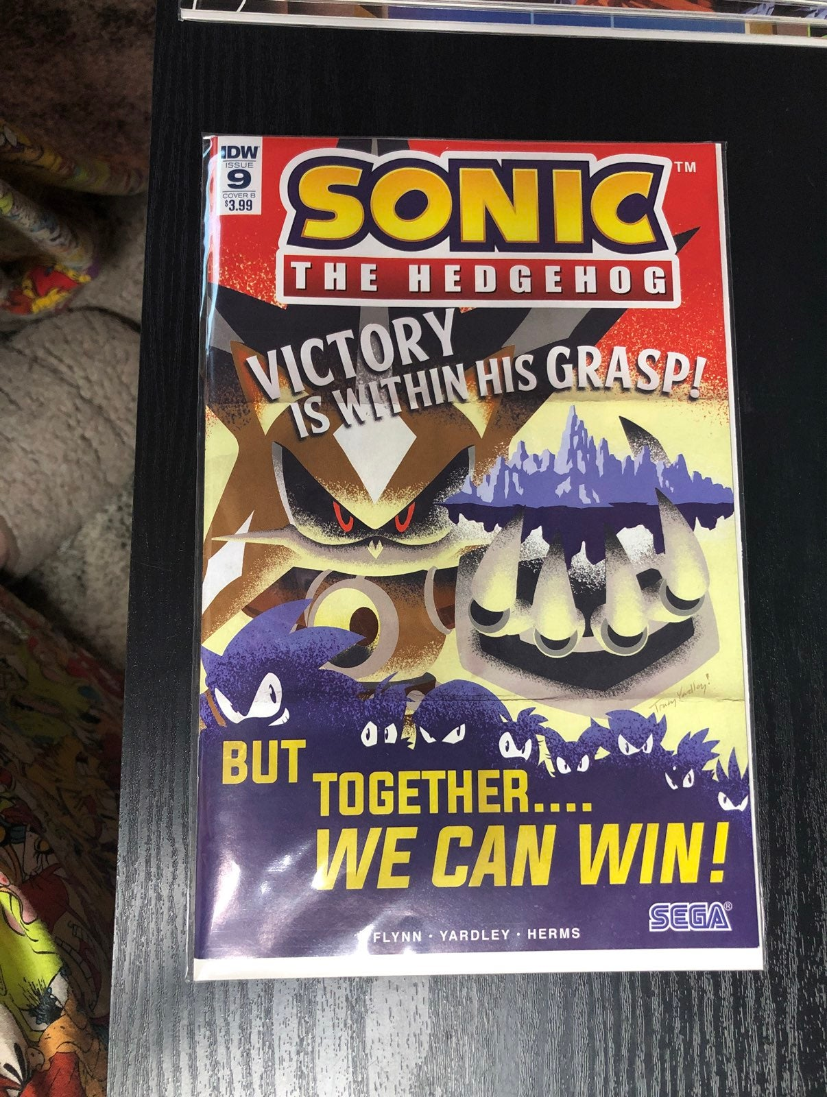 Sonic the Hedgehog comic issue 9 cover B
