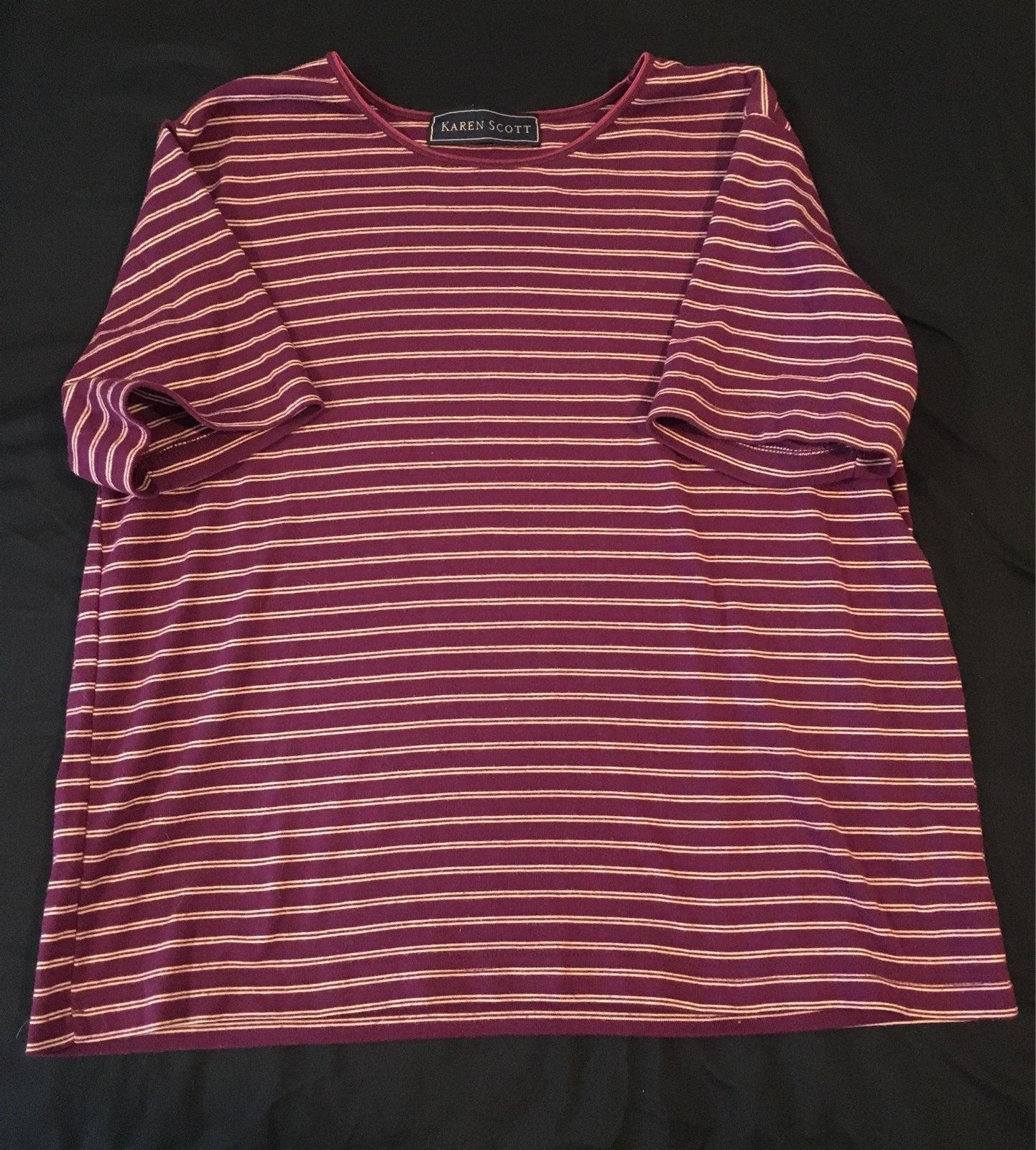 Striped Purple Tshirt