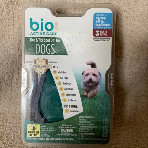 Flea and tic for dogs