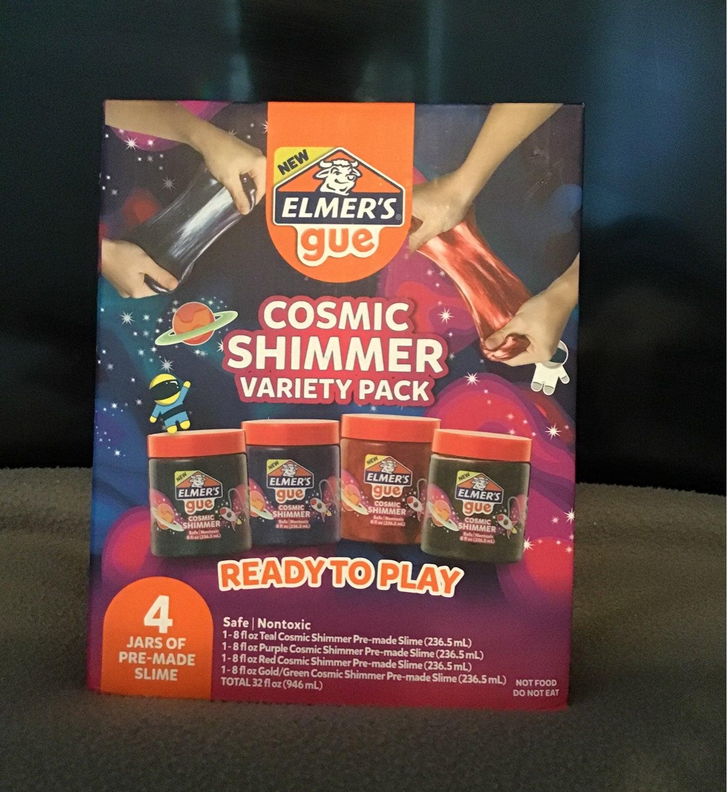 Elmer's Gue Cosmic Shimmer Slime