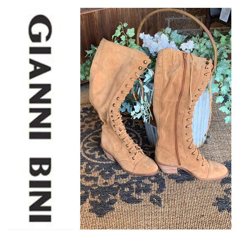 Gianni Bini Lace Boots | Mercari