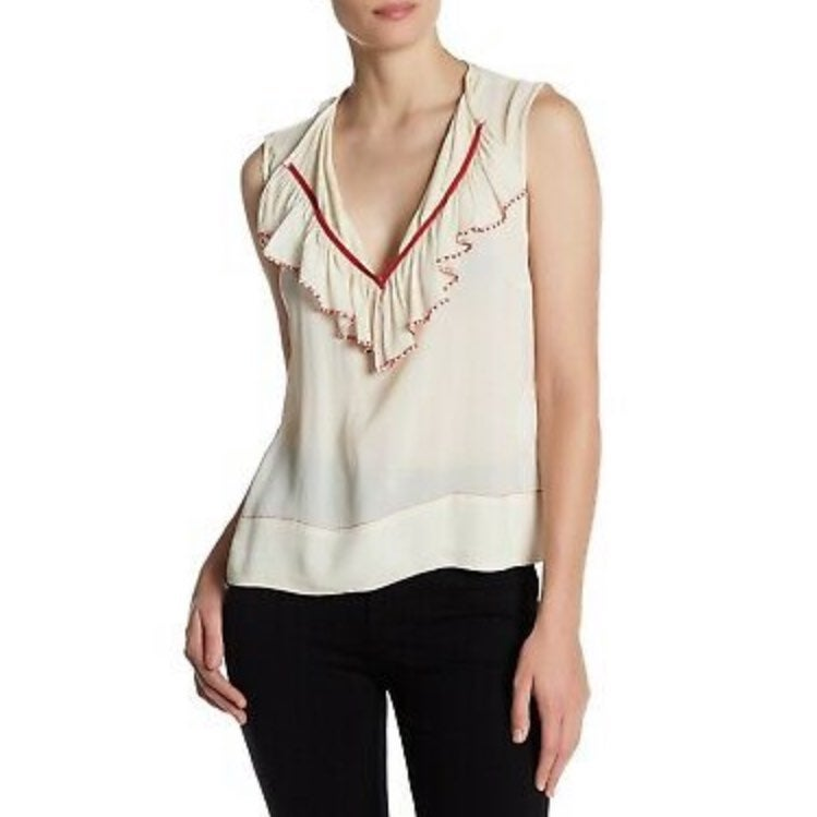 Plenty by Tracy Reese Sheer Beaded Large