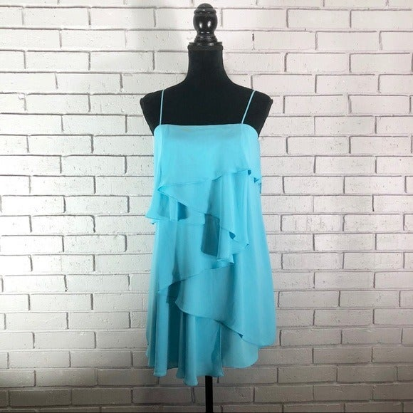 Elizabeth and James Kaliski Blue Dress