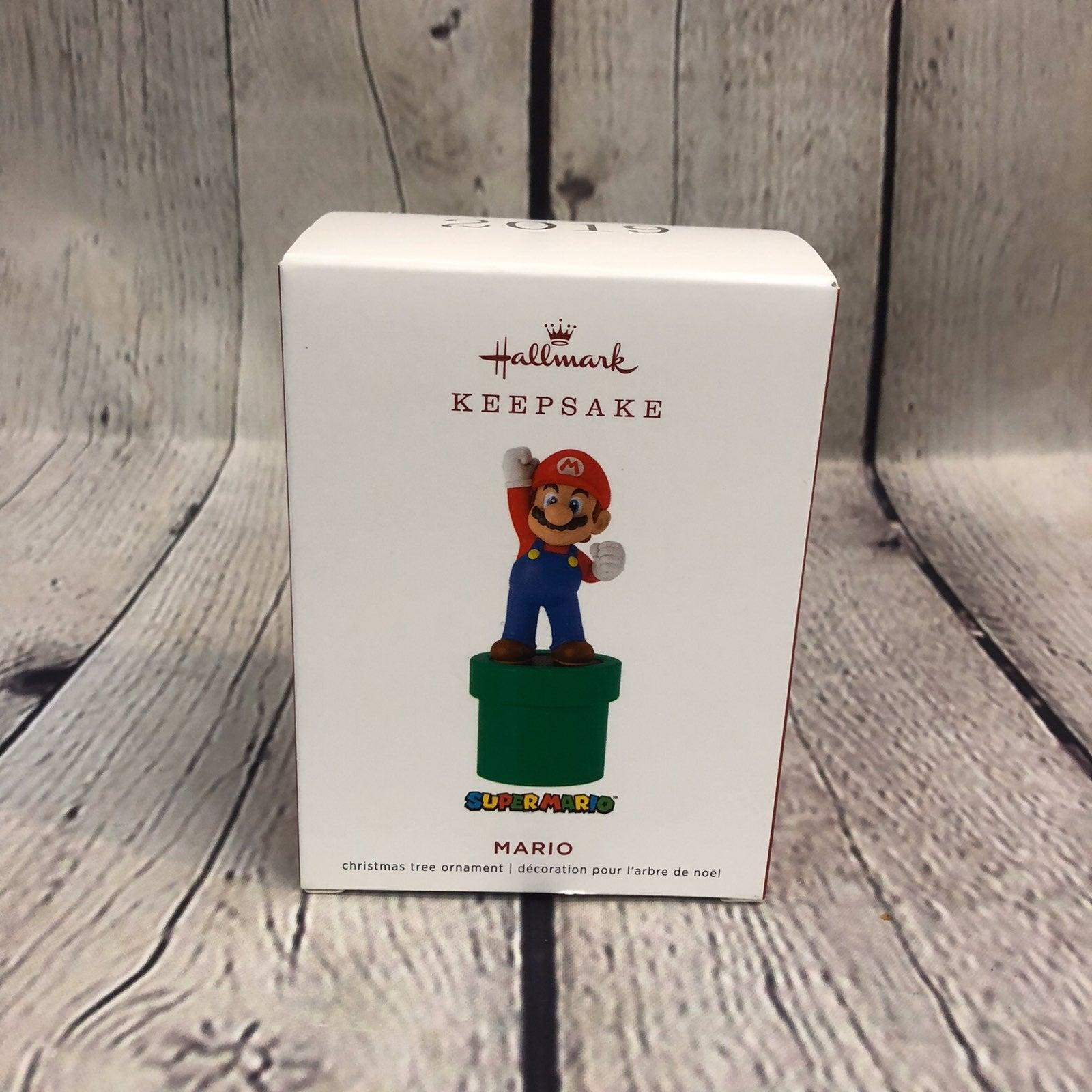 2019 Hallmark Super Mario Ornament