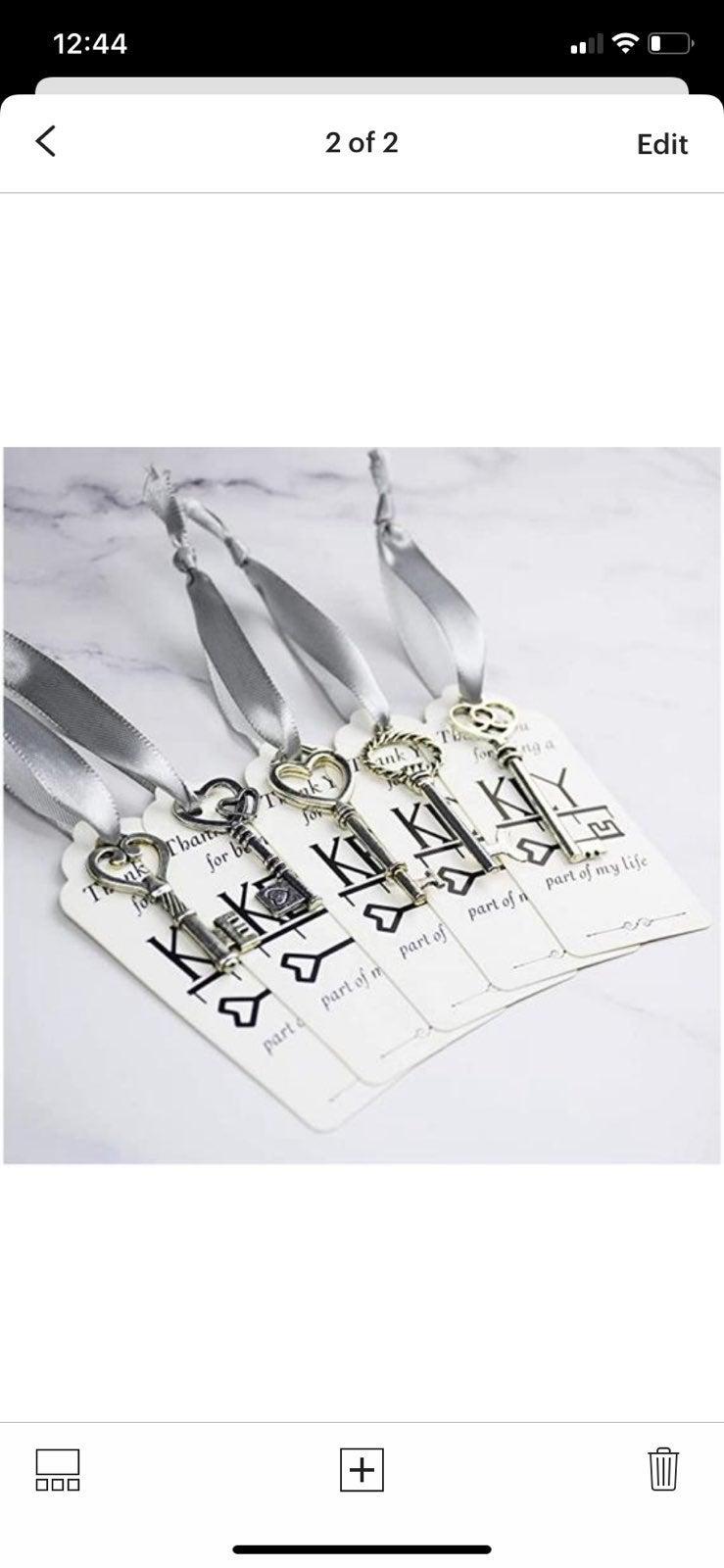 50 pieces Treasure Keys Pirate Keys with