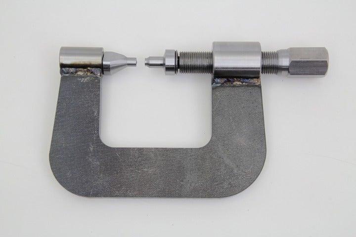 harley saddlebag latch rivet tool 161610