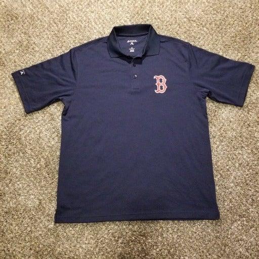 Boston Red Sox Antigua Mens golf polo M