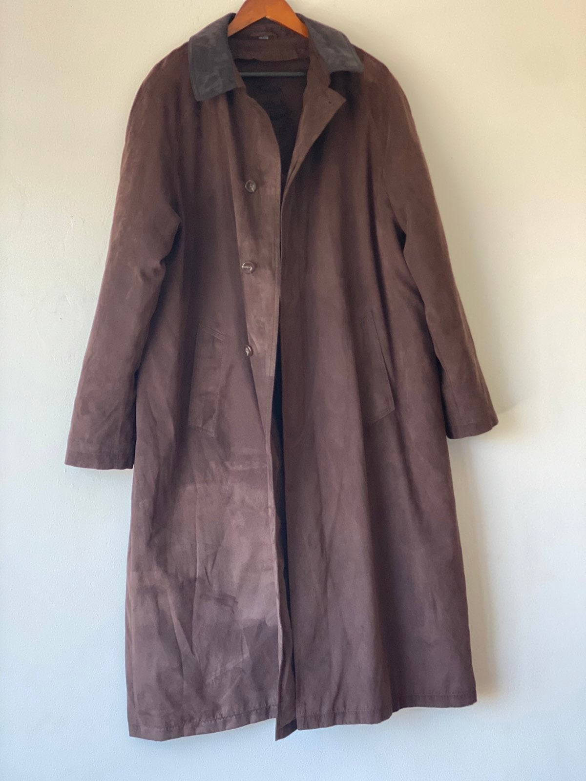 Vintage Ensign Trench Coat Sz 42