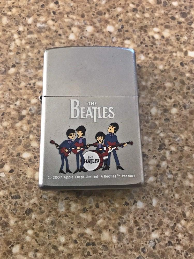 Beatles Playing Zippo Lighter