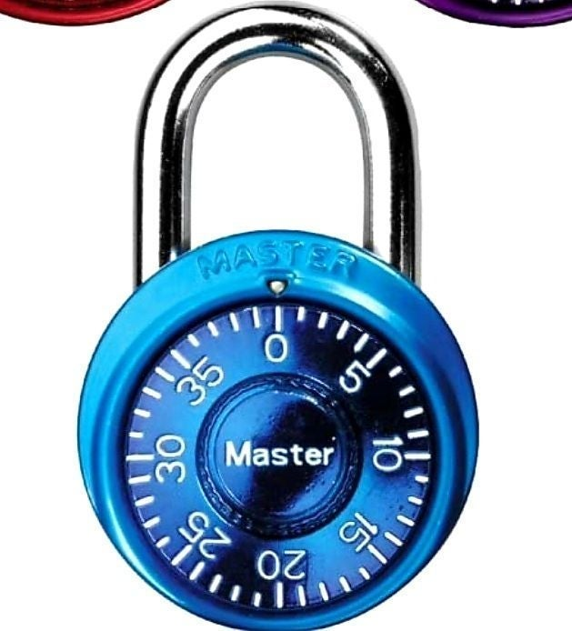 Brand new BLUE Master Lock 1500D