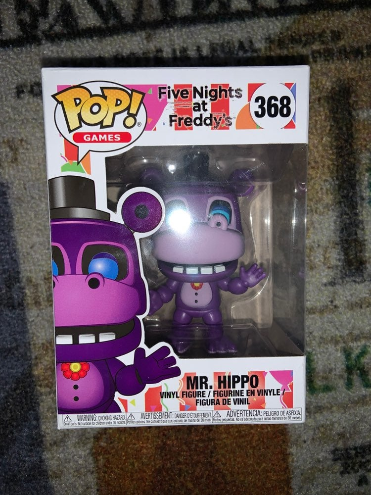 Funko Pop Mr. Hippo FNAF Pizzeria Simula