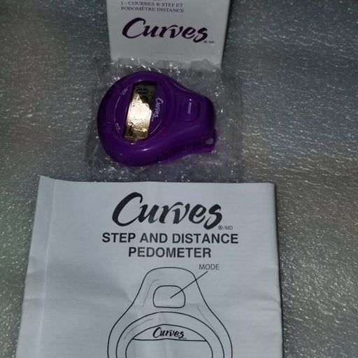 Curves pedometer new