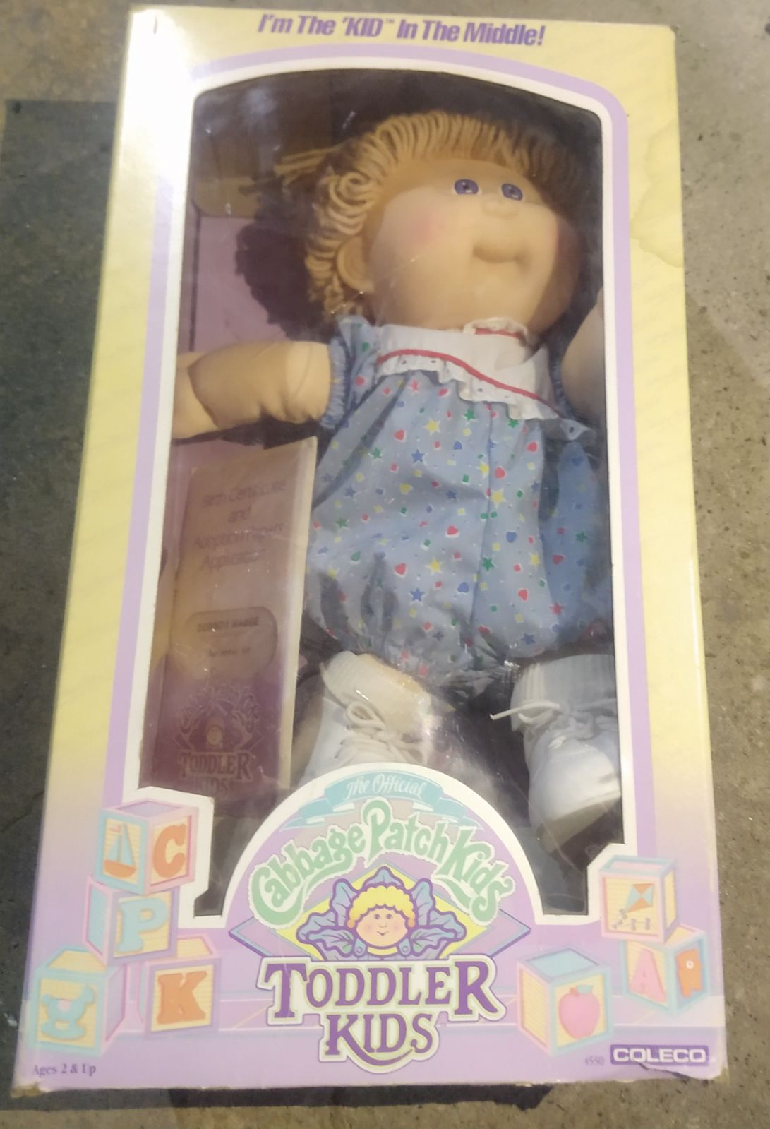1987 Cabbage Patch Kids Toddler