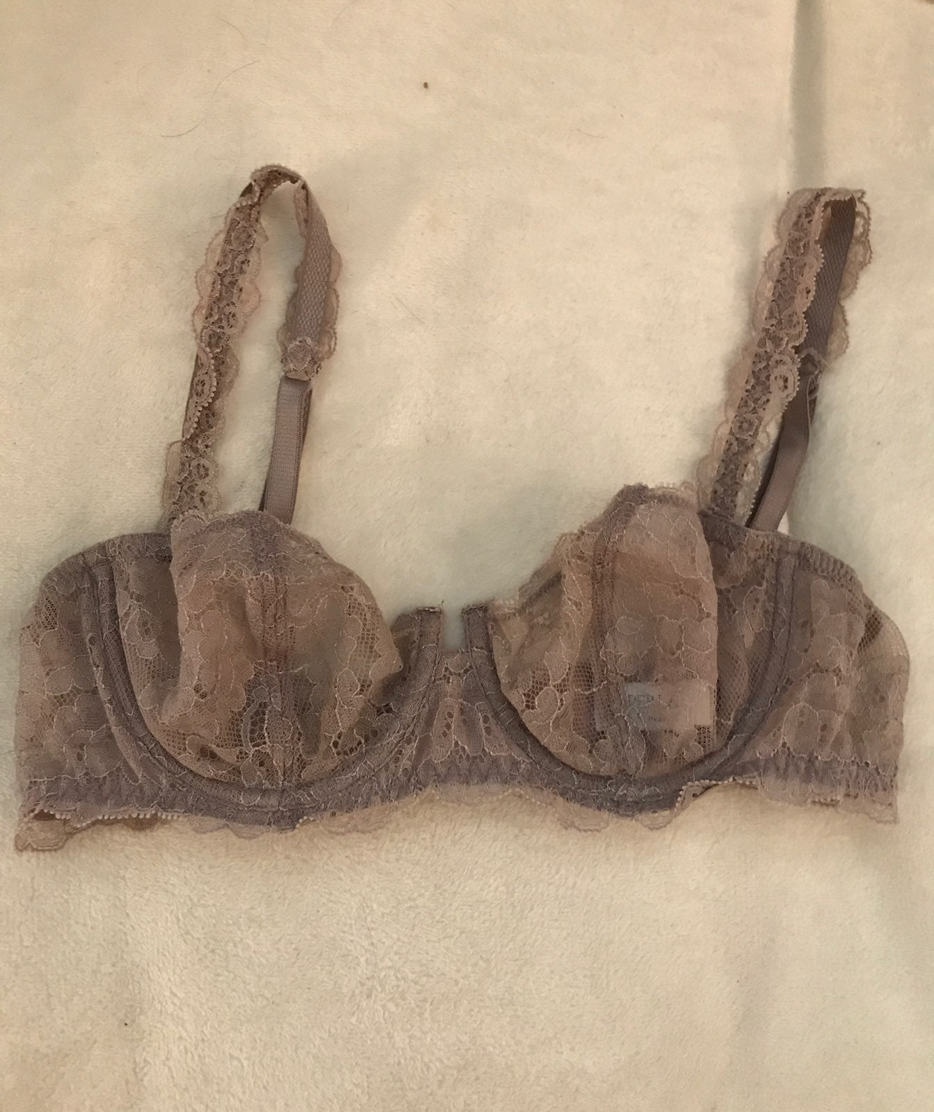 Laperla taupe lace bra 34B