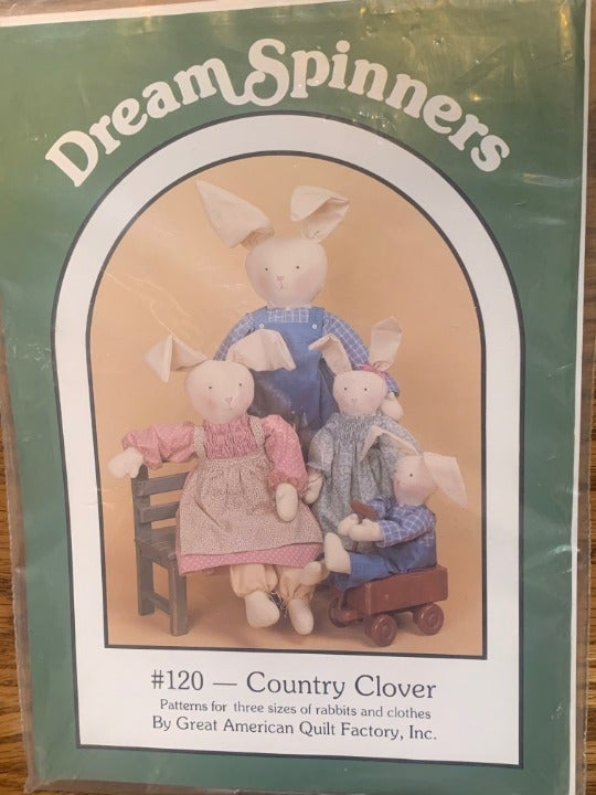 Dream Spinners #120 Country Clover Great American Quilt Factory Inc. NIP