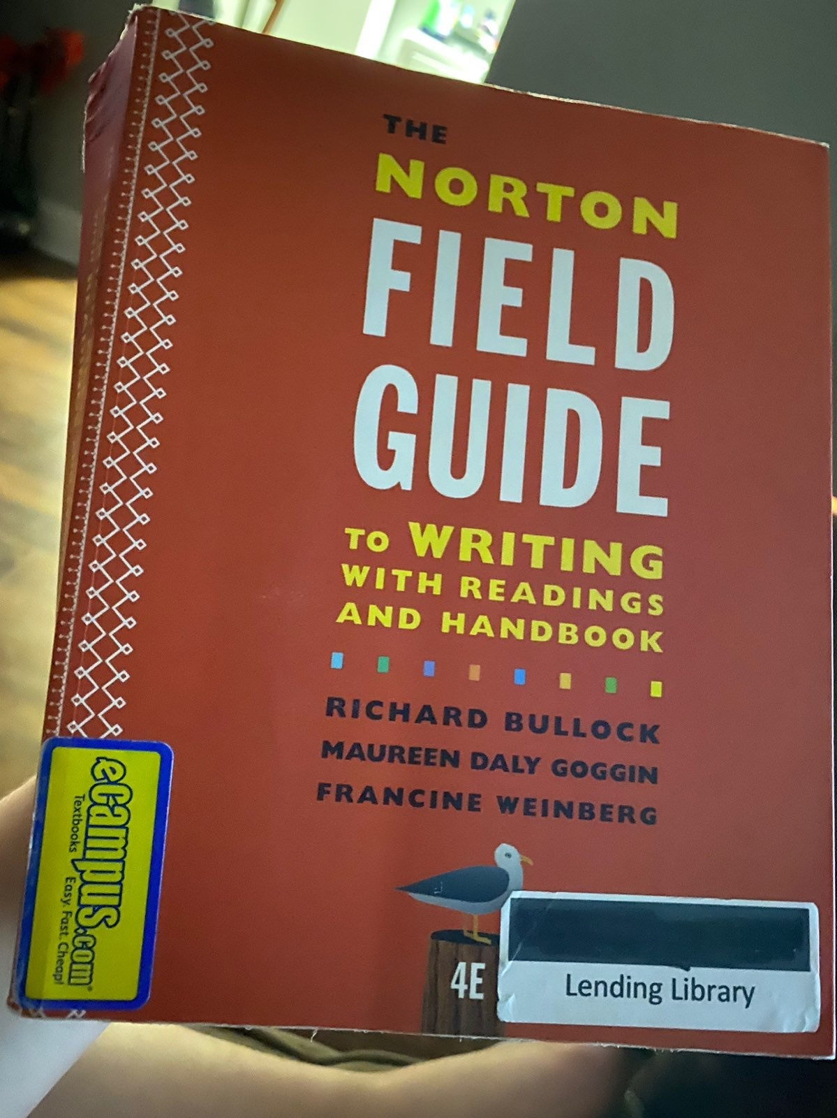 The Norton Field Guide to writing 4th ed