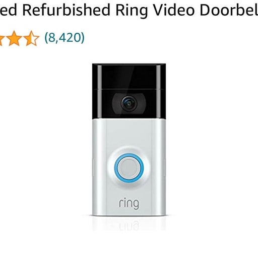 Ring Video Doorbell 2 w/ accessories