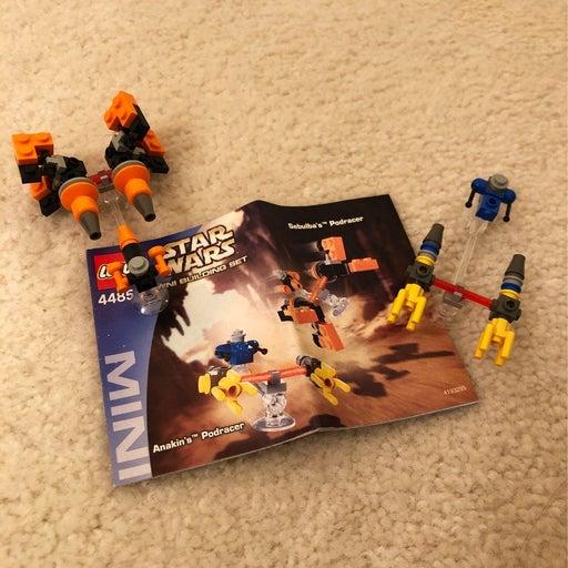 Star Wars 4485 LEGO Mini Podracers