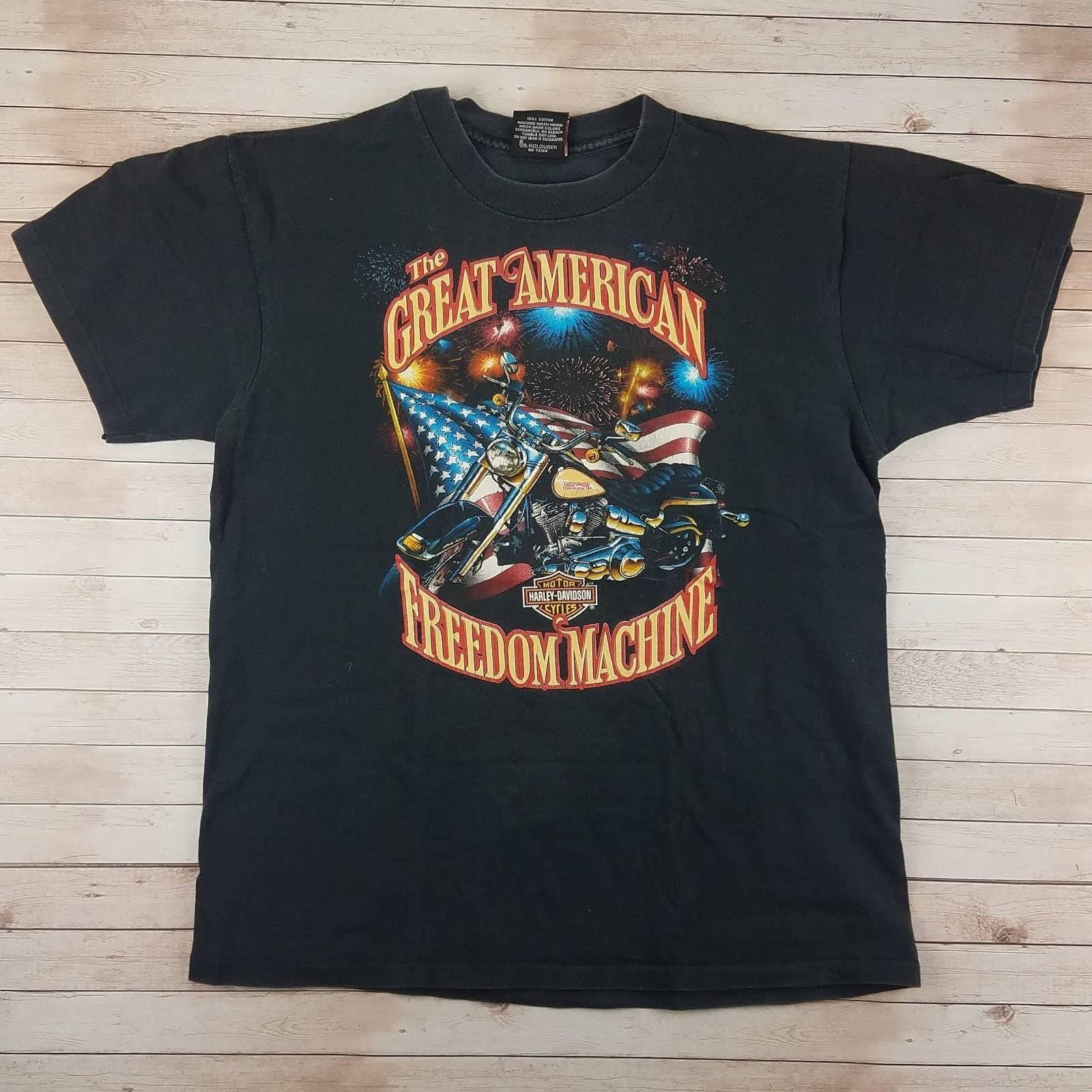 VTG 90s Harley Single Stitch Tee Shirt