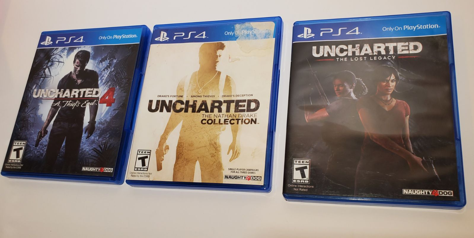 Uncharted Full Collection PS4 Bundle