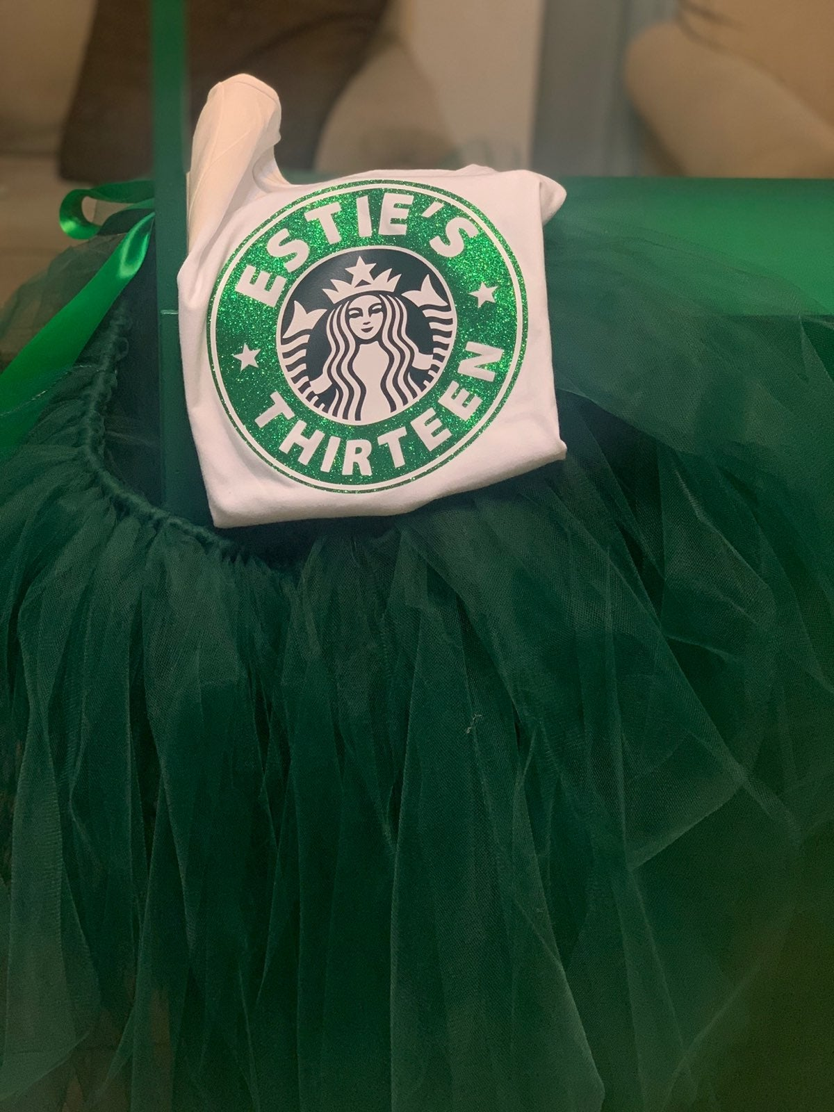 Starbucks birthday outfit