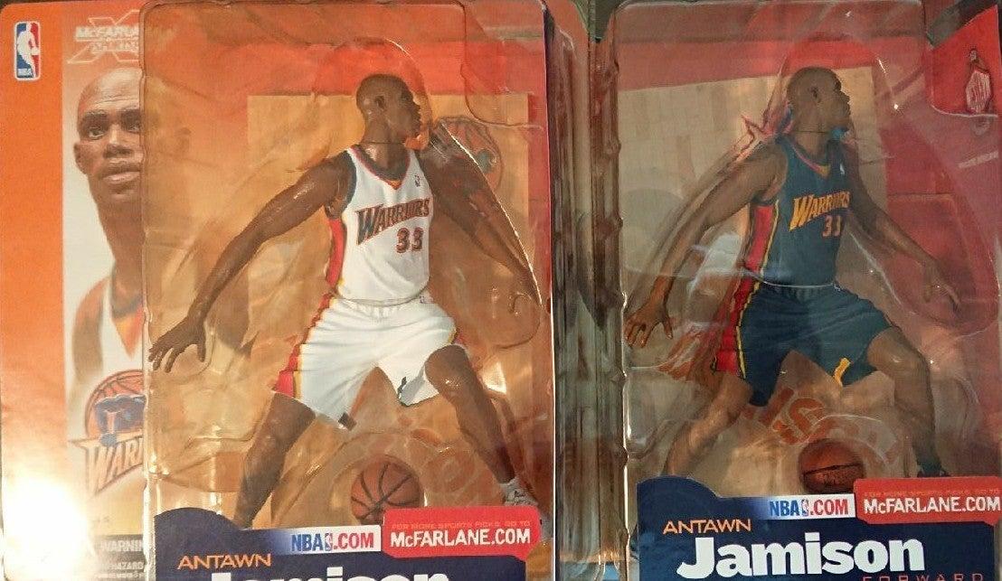 2 McFarlane NBA Antawn Jamison reg/chase