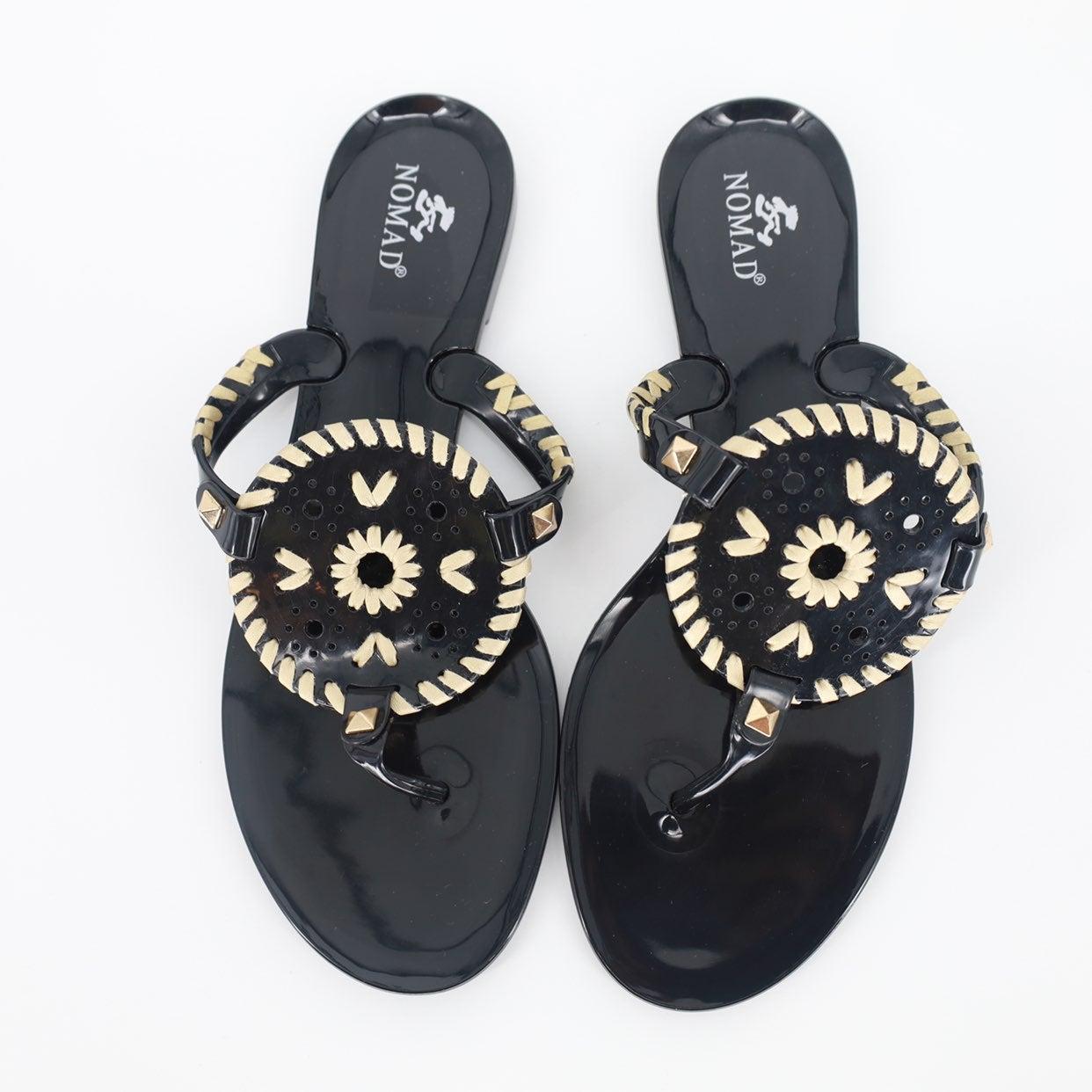 NWOB Nomad Jujube Thong Sandal