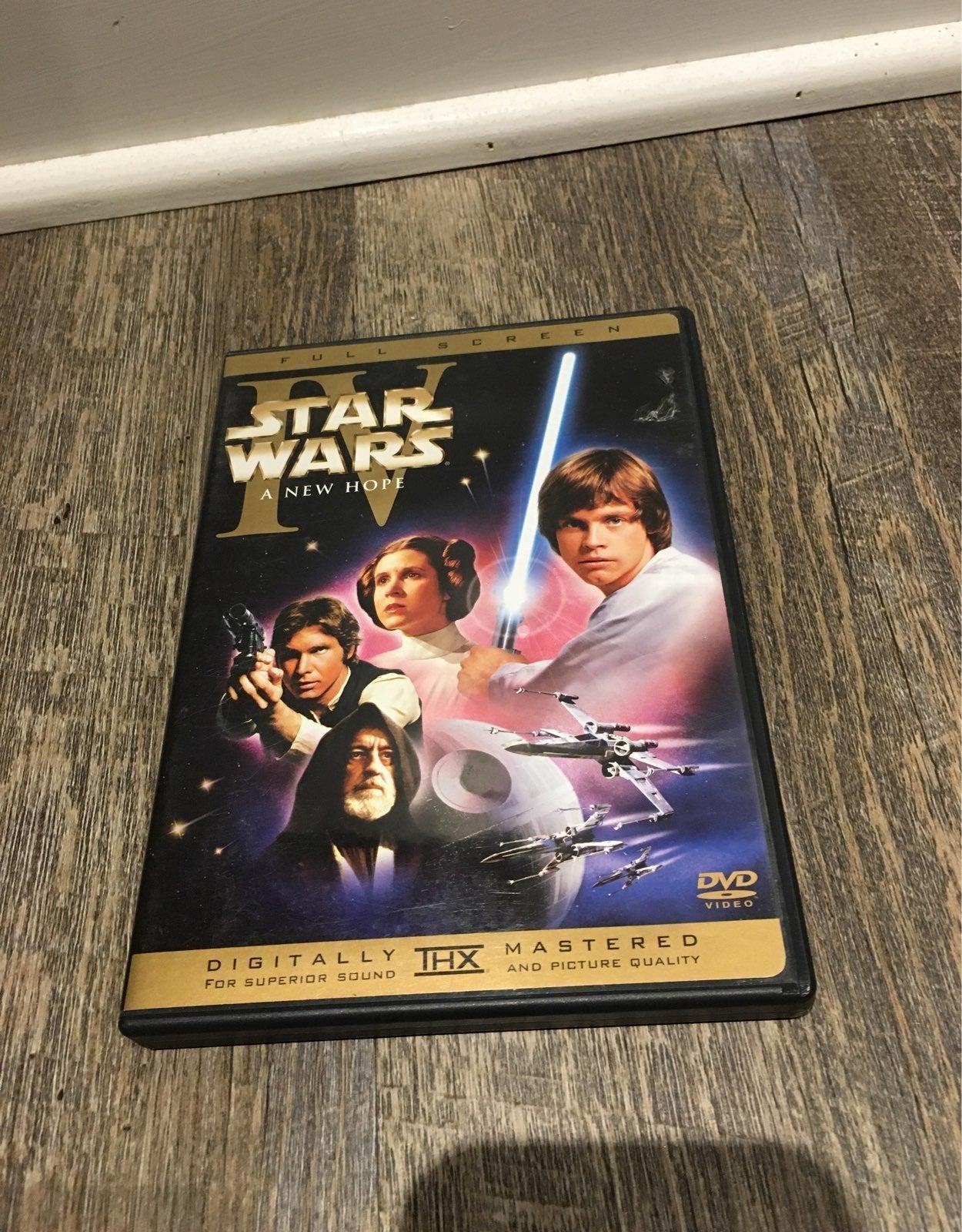 Star wars a new hope dvd