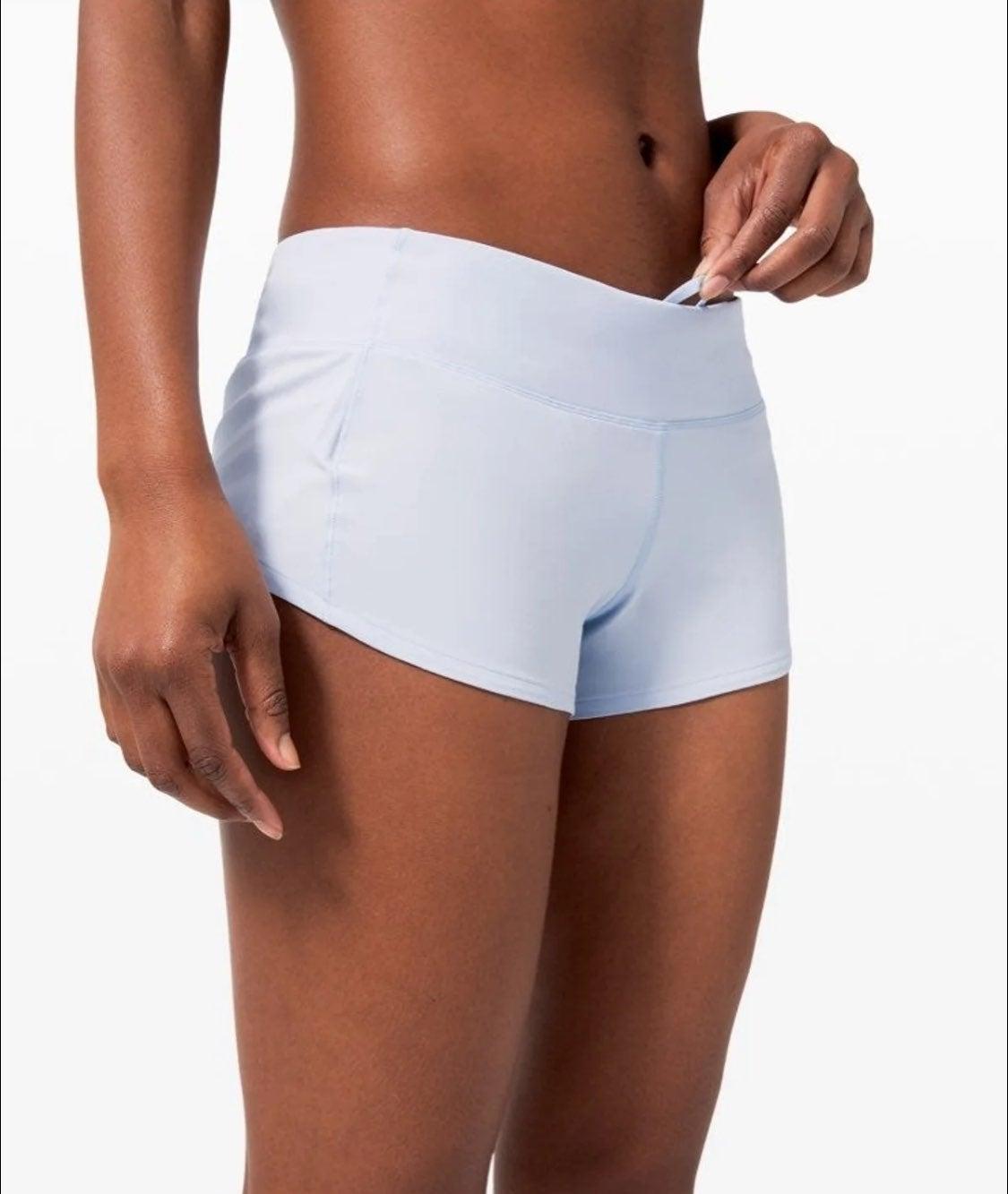 NEW! Lululemon Speed Up Shorts 2.5 (10)