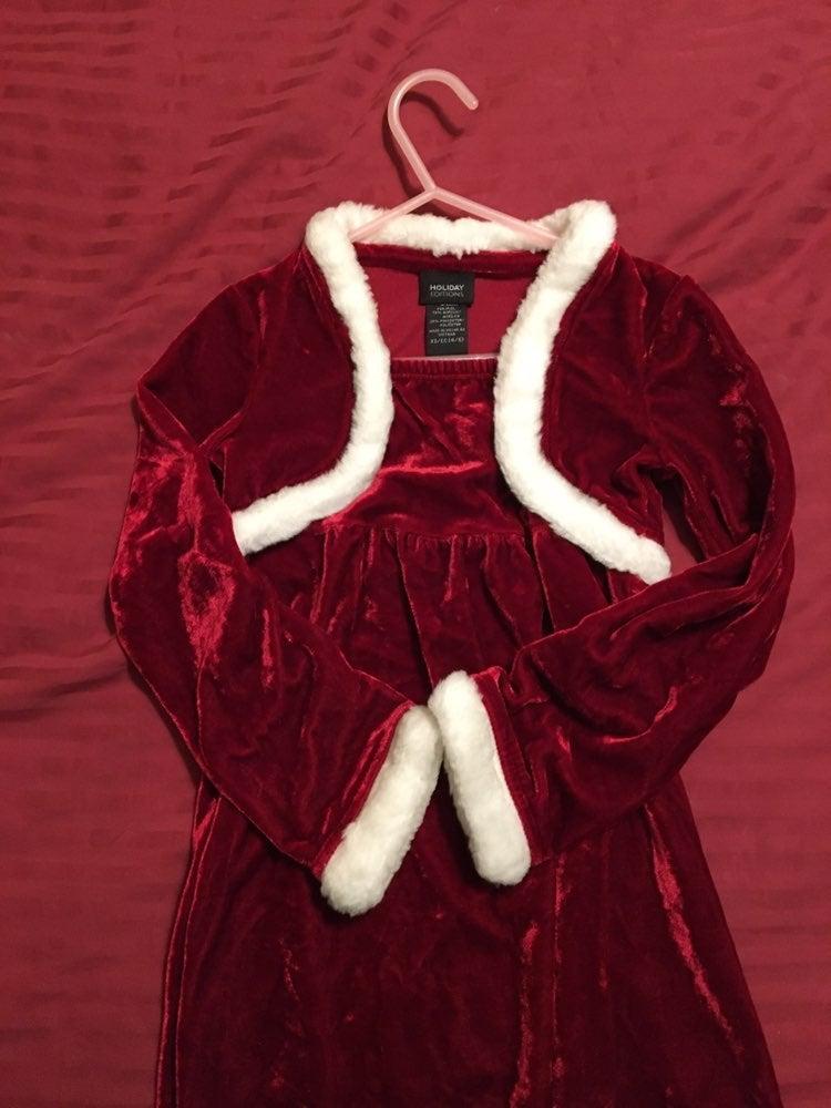 Little miss santas helper dress