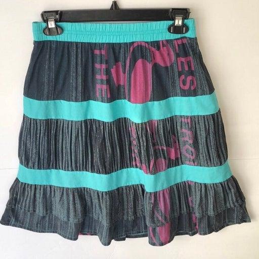 Custo Barcelona Blue Skirt