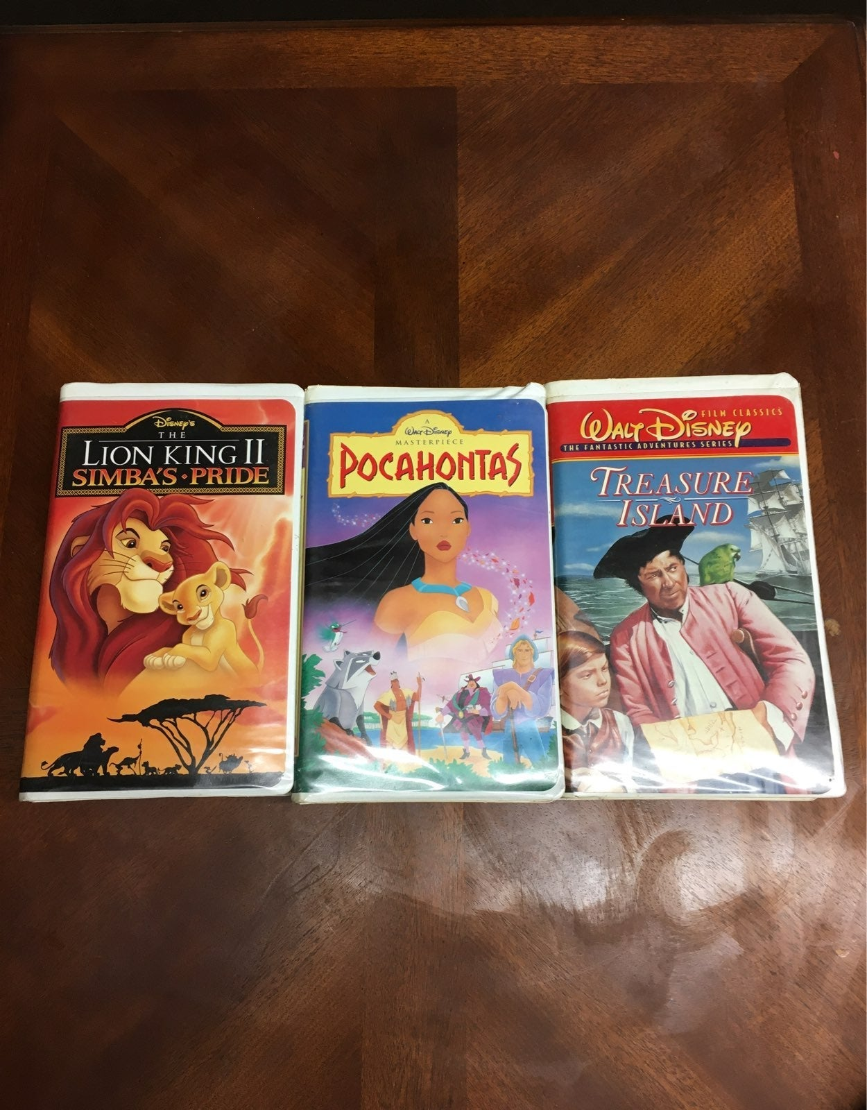 Walt Disney 3 Movies (VHS)